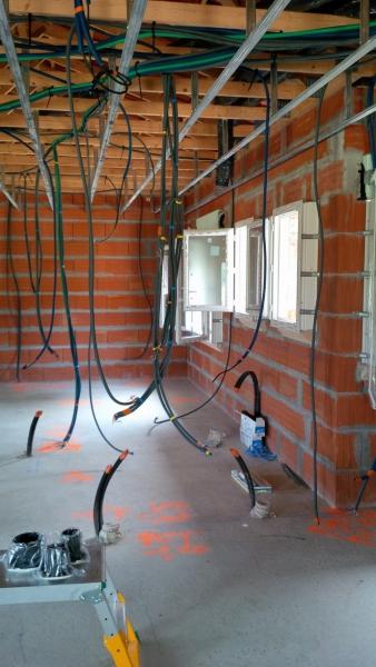 Electricité maison neuve